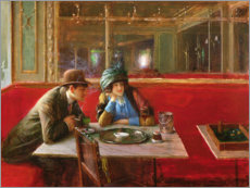 Wall sticker  At the Cafe - Jean Beraud