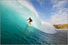 Gallery Print  Surfer in Hawaii - MakenaStockMedia