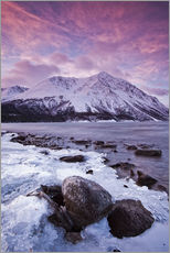 Wall sticker  Kathleen Lake at sunrise - Robert Postma