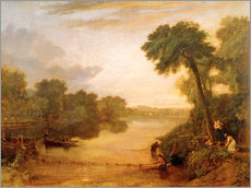 Gallery print  The Thames near Windsor - Joseph Mallord William Turner
