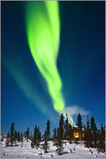 Wall Stickers  Aurora in Alaska - Kevin Smith