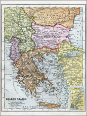 Wall sticker  The Balkan States Between The First And Second World Wars - Ken Welsh