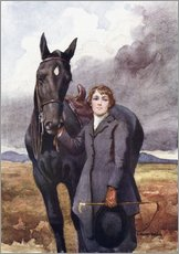 Gallery print  She Chose Me For Her Horse - Ken Welsh