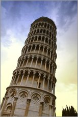Gallery Print  The Leaning Tower Of Pisa Tuscany Italy - Carson Ganci