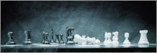 Gallery print  A Chess Game - Don Hammond