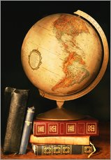 Gallery print  Globe And Books - Don Hammond
