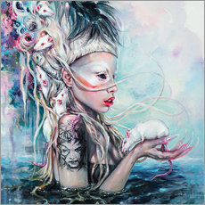 Wall Stickers  Yolandi The Rat Mistress - Tanya Shatseva