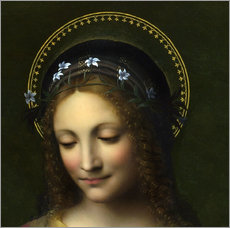 Wall sticker  Saint Catherine - Bernardino Luini