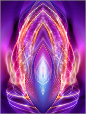 Gallery Print  Dragonpower-Energy - TRANSFORMATION - Dolphins DreamDesign