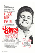 Foam board print  Johnny Cash! The Man, His World, His Music - Entertainment Collection
