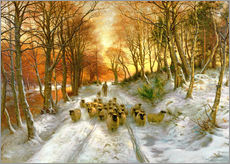 Wall sticker  Glowed with Tints of Evening Hours - Joseph Farquharson