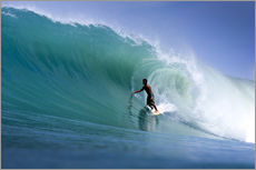 Wall sticker  Surfing the dream wave - Paul Kennedy