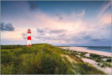 Wall sticker  Lighthouse in the morning light (Sylt / Elbow / List East) - Dirk Wiemer