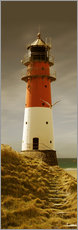 Wall sticker Lighthouse in the evening light