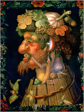 Wall sticker  Autumn - Giuseppe Arcimboldo