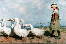 Gallery print  To pastures new - Sir James Guthrie