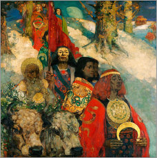 Wall sticker  Druids bringing in the Mistletoe - Edward Atkinson Hornel