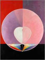 Gallery print  The Dove, No. 2 - Hilma af Klint