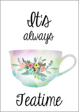 Wall Stickers  It's always teatime - GreenNest