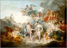 Gallery Print  Cupid and Psyche celebrate wedding - François Boucher