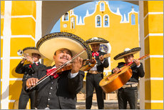 Wall sticker  Mexican Mariachi musicians with sombrero, Mexico - Matteo Colombo