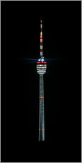 Gallery print  Stuttgart TV Tower - Michael Haußmann