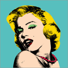 Wall sticker  Marilyn Monroe - Mark Ashkenazi