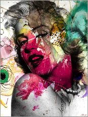 Gallery print  Marilyn Monroe - Mark Ashkenazi