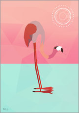 Gallery Print  PINK FLAMINGO - Mark Ashkenazi
