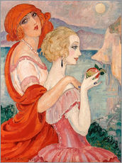 Wall sticker  On the road to Anacapri - Gerda Wegener