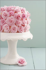 Wall sticker  Cake with roses made of sugar - Elisabeth Cölfen