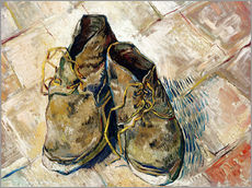 Wall sticker  A Pair of Shoes - Vincent van Gogh
