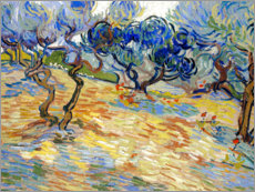 Wall Stickers  Olive Trees - Vincent van Gogh