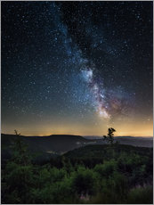Wall sticker  Milky Way over Black Forest - Andreas Wonisch
