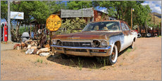 Wall sticker  Route66- Old Chevrolet Impala - Michael Rucker