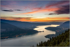 Gallery print  Colorful Sunset Annecy - Sander Grefte