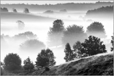 Gallery print  Misty Dutch Hillls - Sander Grefte