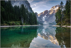 Wall sticker  Lago Di Braies, Dolomite Alps, Italy - Achim Thomae
