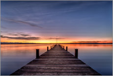 Gallery print  Bavarian Infinity - Sunset - Achim Thomae