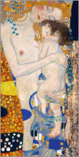 Gallery print  Mother with child - Gustav Klimt