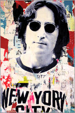 Wall sticker  John Lennon - Michiel Folkers
