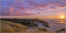 Wall Stickers  Sunset beach at Zeeland the Netherlands - Remco Gielen