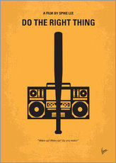 Gallery print  Do The Right Thing - chungkong