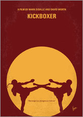 Wall Stickers  No178 My Kickboxer minimal movie poster - chungkong