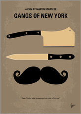 Wall Sticker  No195 My Gangs of New York minimal movie poster - chungkong