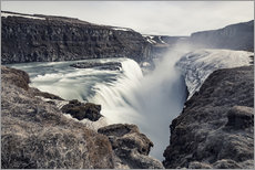 Gallery print  Gulfoss - Images Beyond Words