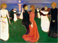 Wall sticker  The Dance of Life - Edvard Munch