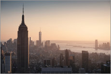 Gallery print  Sunset over NYC - Images Beyond Words
