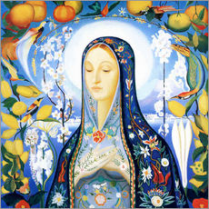 Gallery print  The Virgin - Joseph Stella