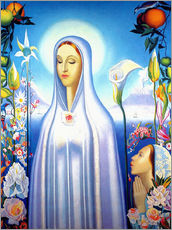 Gallery print  Virgin of the Rose and Lily - Joseph Stella